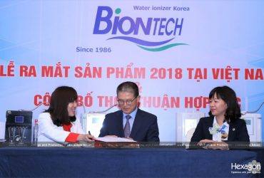 Press conference: Official launching of Biontech in Vietnam