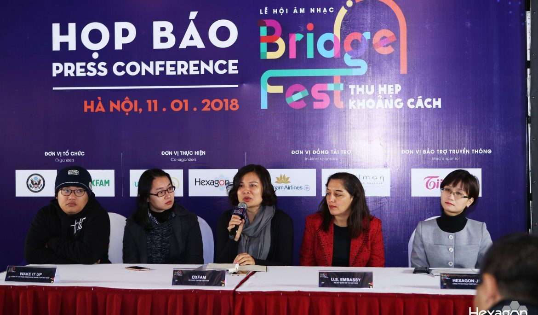 Lễ hội âm nhạc Thu hẹp Khoảng cách – BridgeFest 2018