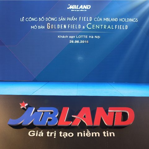 Product Line Launching of MBLAND HOLDING FIELD